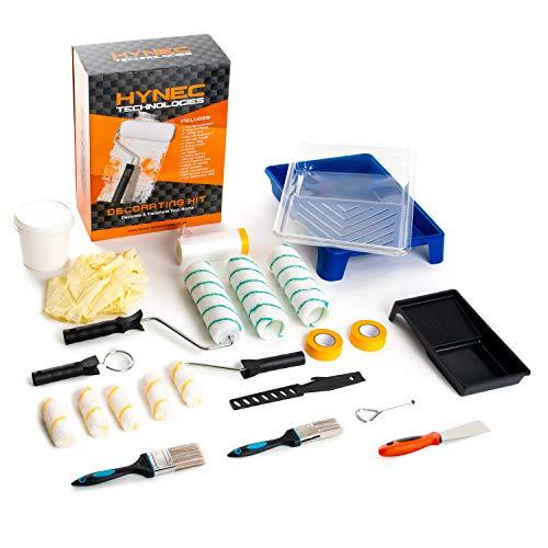 Premium Maler Set - 29-teiliges Renovierungs-Set  Streich Set  Renovierungszubehr inkl. Malerrollen,...