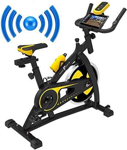 Nero Sports Bluetooth Spinning Aerobic Heimtrainer Indoor Training Fitness Cardio Spin Bike Fahrrad Pulsmesser...