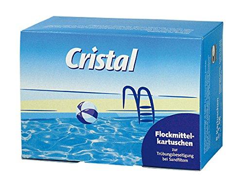 Cristal Flockmittelkartuschen 1195304, 8Stück