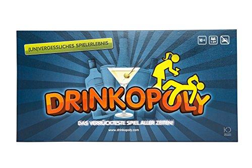 Drinkopoly – Das verrückteste Spiel Aller Zeiten - Party Spiele für Erwachsene und Studenten mit 50...