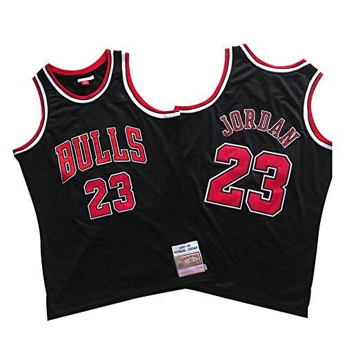 Michael Jordan Chicago Bulls Basketball Trikot Herren # 23 Classic Bestickt Retro Jersey Jugend Fan Edition...
