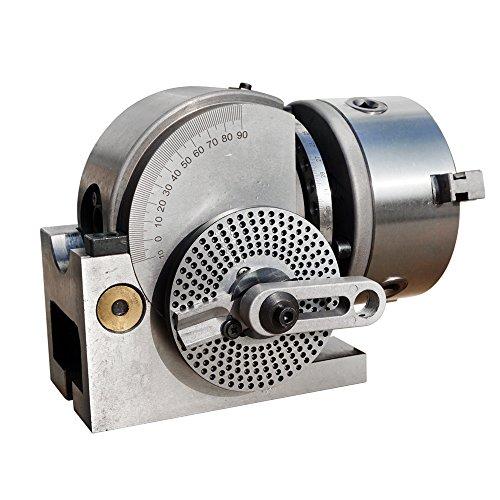 ECO-WORTHY BS-0 Universal zwischen Head Semi Universal Fräser-Set für Fräsmaschine Spindelstock Spindel...