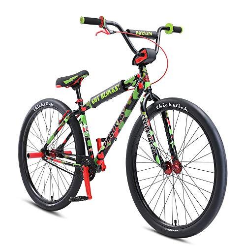 SE Bikes DBlocks Big Ripper 29 2021 BMX Cruiser Rad - 29 Zoll   Green/Red   rot/grün   23.6'