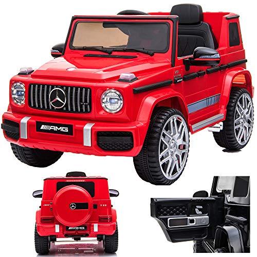 SIMRON Mercedes G 63 G63 AMG V8 Biturbo Kinderauto Kinderfahrzeug Kinder Elektroauto Jeep, SUV, Geländewagen,...