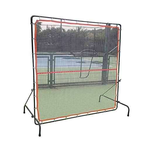 Oceanindw Beidseitig Tennis Rebound-Netz, tragbar Fußball Rückprallnetz, 6,7x6ft Tennis-Rebounder...