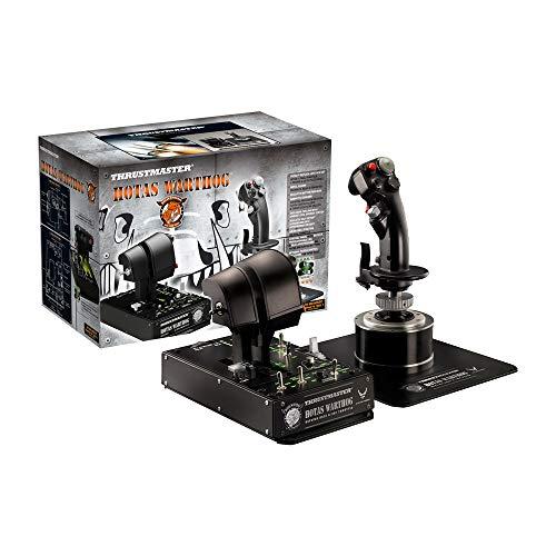 Thrustmaster Hotas Warthog - Joystick-Repliken-Set mit doppeltem Gashebelsystem und doppelter...