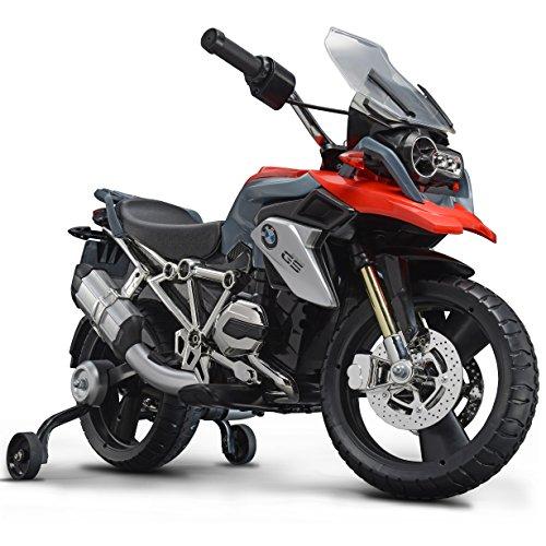 ROLLPLAY Elektro-Motorrad, Mit Stützrädern, Für Kinder ab 3 Jahren, Bis max. 35 kg, 6-Volt-Akku, Bis zu 4...
