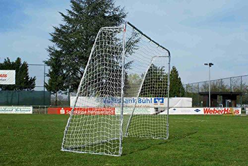 POWERSHOT® - Fußballtor aus Stahl 3x2m (Ohne Torwand) - Fussballtor Garten