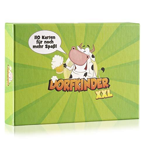 Spielehelden Dorfkinder XXL - Das Trinkspiel für echte Dorfkinder - Als Party Zubehör fürs Festival -...