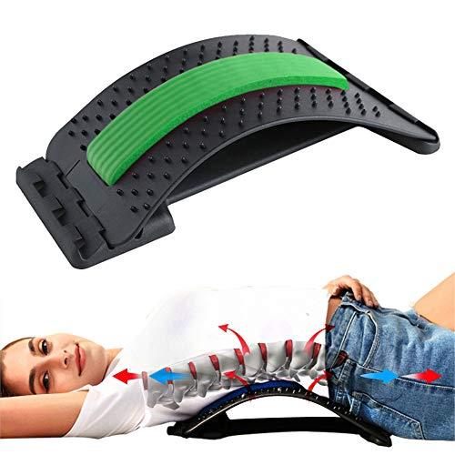 Binwwe Rückenstrecker Rückendehner Back Stretcher, für Unter und Ober Lendenwirbelsäule Rückenschmerzen...