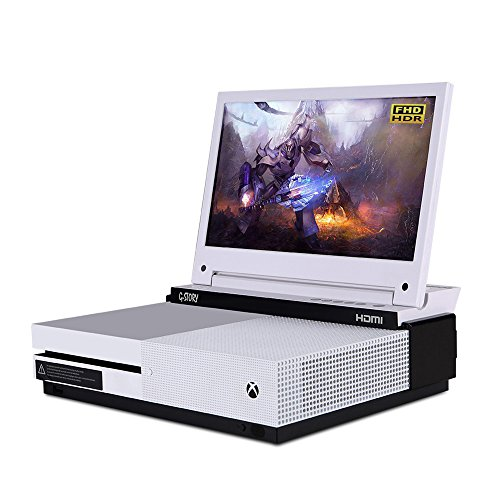 Der 11,6-Zoll HDR FHD 1080p mobile augenschonende Gaming-Monitor für die Xbox One S von G-STORY mit FreeSync,...