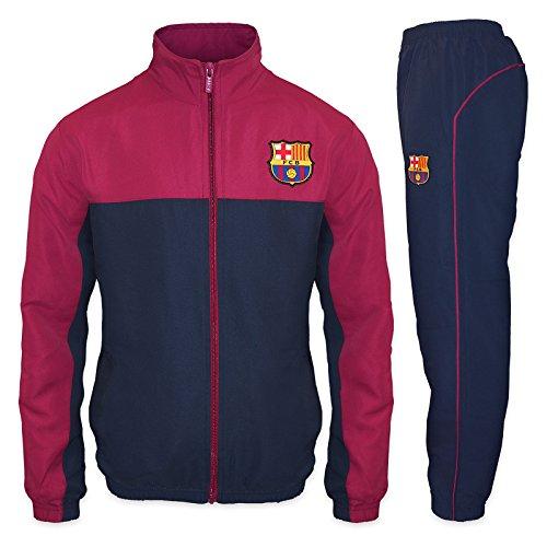 FC Barcelona - Jungen Trainingsanzug - Jacke & Hose - Offizielles Merchandise - Geschenk für Fußballfans -...