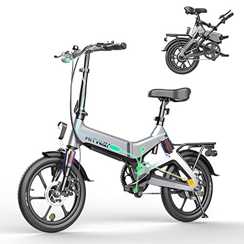 HITWAY Elektrofahrräder E Bike Elektrofahrrad Klapprad Klappräder Faltrad 250W elektrisches Fahrrad...