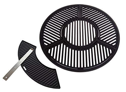 JX für 57 cm Kugelgrills: Kompletter hochwertiger Grillrost aus Gusseisen (Sear Grate) (100% Passgarantie auf...