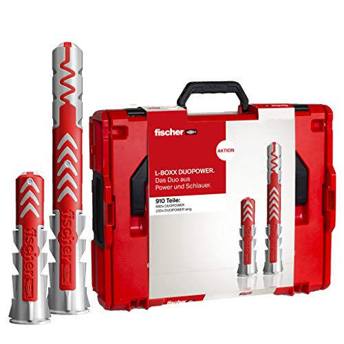fischer L-BOXX 102 DUOPOWER - Universaldübel, leistungsstarker 2-Komponenten-Dübel, Kunststoffdübel zur...