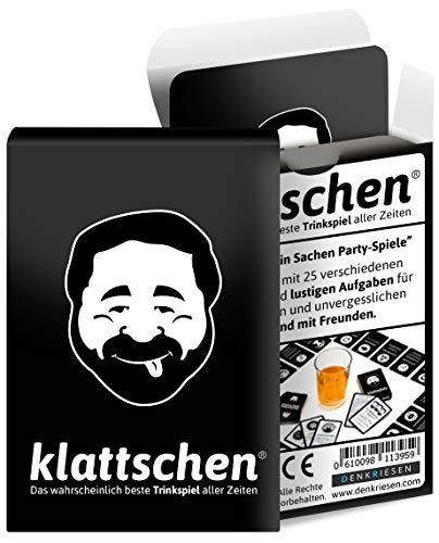 DENKRIESEN - klattschen® - Trinkspiel - Das wahrscheinlich beste Trinkspiel aller Zeiten - Partyspiel -...