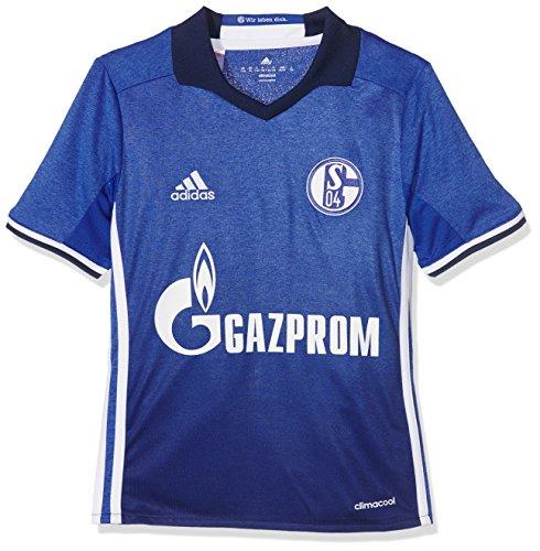 adidas Kinder FC Schalke 04 Heim Trikot, Bold Blue/White, 152