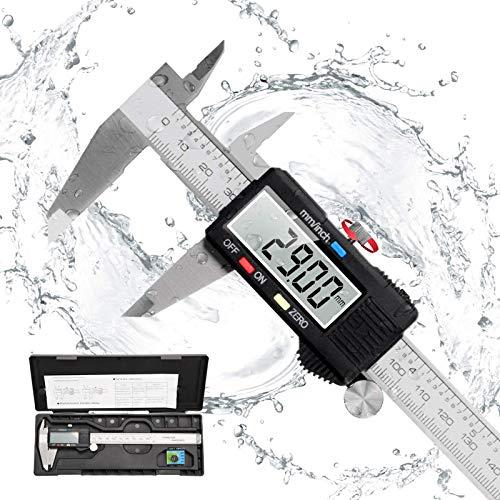 Messschieber Digital Schieblehre, Orthland 150mm Hochpräzise Elektronische Edelstahl Meßschieber mit LCD...