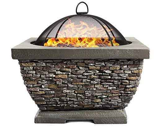 Centurion Supports Fireology Tonteria Prestigious Garten- und Terrassenheizer, Feuerschale und Grill mit...