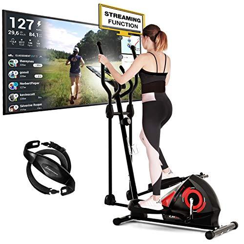Sportstech CX608 Crosstrainer   Deutsches Qualitätsunternehmen   Ergometer + Video Events & Multiplayer App  ...