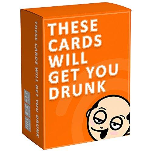 These Cards Will Get You Drunk - Lustiges Trinkspiel für Erwachsene für Partys