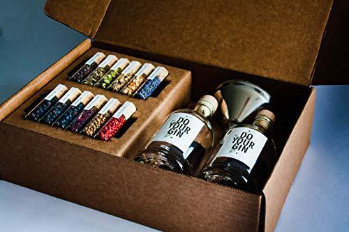 DO YOUR GIN | DIY Gin-Set – für zu Hause oder als Geschenk | Bekannt aus Sat1, Vogue, Spiegel | 12...