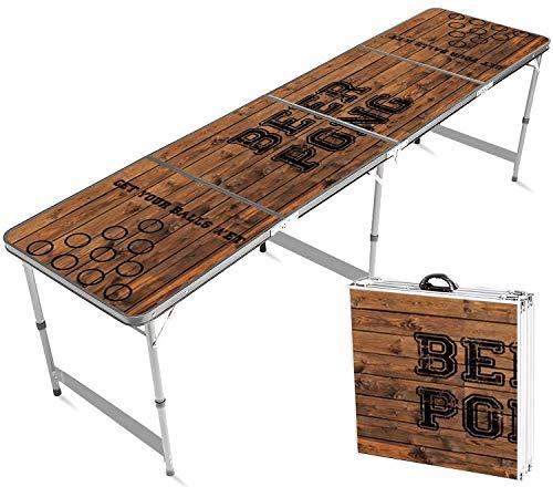 Offizieller Old School Beer Pong Tisch | Premium Qualität | Offizielle Wettkampfmaße | Beer Pong Table |...