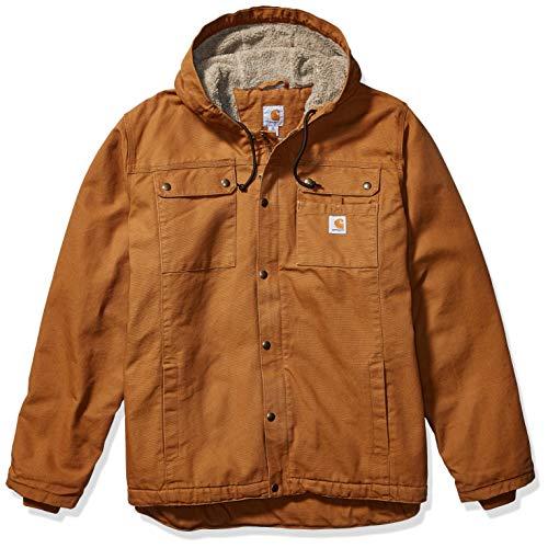 Carhartt Herren Bartlett Jacke Arbeitskleidung, Brown, XL