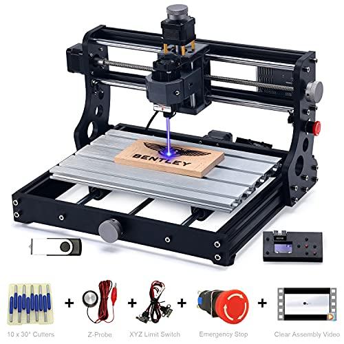 Kocriz update 2 in 1 3018 Pro fräsmaschine 5.5W laser cutter graviermaschine, 3 achse CNC fräse bausatz mit...