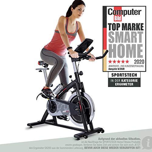 Sportstech Indoor Speedbike SX200 Sportgerät für Zuhause | Deutsches Qualitätsunternehmen + Video Events &...