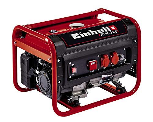 Einhell Stromerzeuger (Benzin) TC-PG 2500 (4 kW, Dauerleistung 2.100 W, max. 2.400 W, zwei 230...
