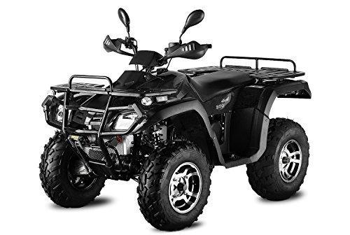 AUFGEBAUT 500cc Hunter 500-SL mit Straenzulassung 4X4 Seilwinde 4x Federung ATV Bike EEC