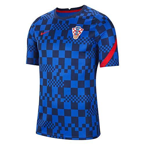 Nike Cro BRT Pm Fan-T-Shirt Bright Blue/University Red M