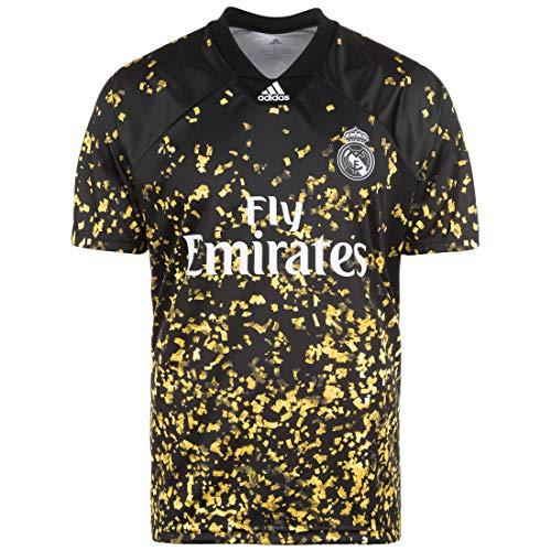 adidas Performance Real Madrid EA Trikot Herren schwarz/Gold, S
