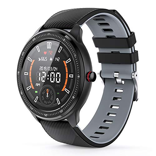MOTOK Smartwatch Voll Touch Screen Blutdruck Uhr mit Pulsuhren Sport Uhr Aktivitätstracker Schlafmonitor...