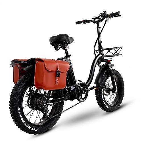 Y20 Ebike Klapprad 20 Zoll, Upgrade E-Bike Damen mit 15AH 48V Batterie, Mountainbike Klappbar mit 750W, MTB...