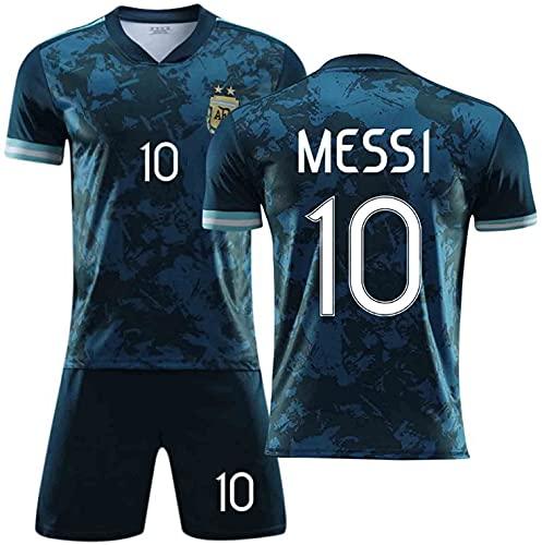 PPOI 2021 Méssi Argentinien Haus und Fußball-Jersey, Fußball-Trikots für Erwachsene und Kinder, schnell...
