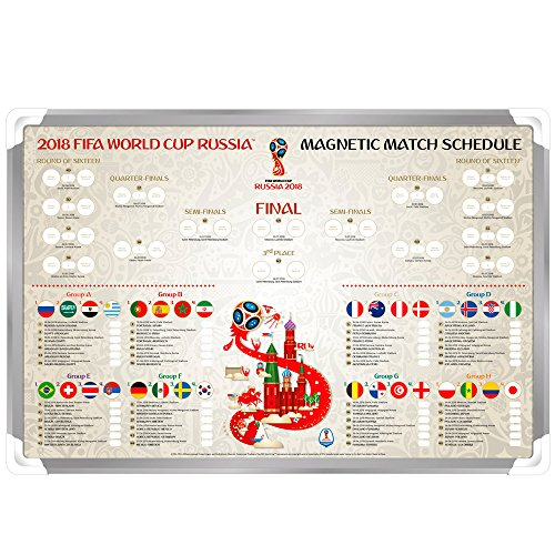 Magnet-Tabelle WM 2018