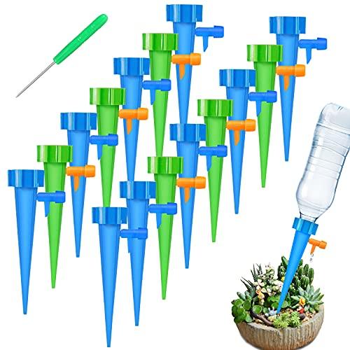 FYLINA Bewässerungssystem 15 Stück Automatisch Bewässerung Set Instellbar Einfaches Zum Gießen von...