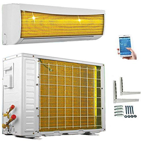 A++/A++ ECO Smart INVERTER WiFi/WLAN 12000 BTU Split Klimaanlage mit Wärmepumpe Klimagerät mit Heizfunktion...