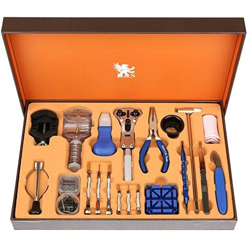 H&S. Satz von 155 Werkzeugen mit Etui für die Reparatur von Uhren 155 Stück