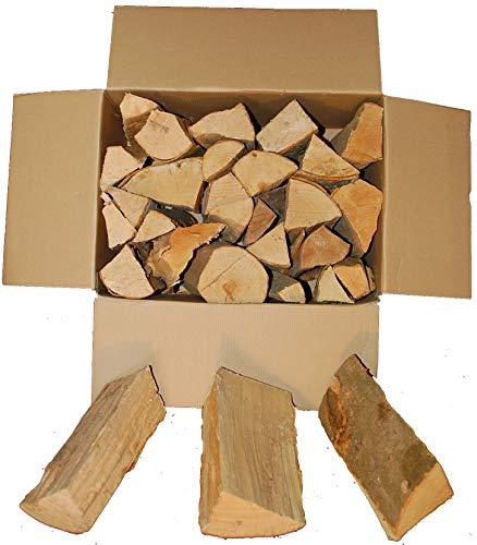 BUCHE Kaminholz, Brennholz 20Kg -gut zu tragen-, Feuerholz, Grillholz, ofenfertig, 25cm Scheitlänge direkt...
