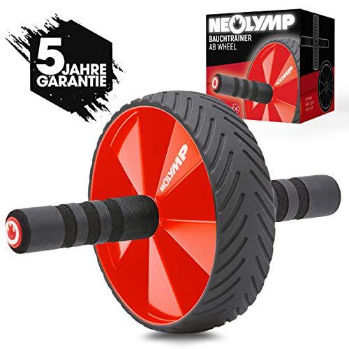 NEOLYMP Premium Bauchtrainer AB Roller + 5 Jahre Garantie | Sixpack Trainer | Bauchroller | Bauchmuskeltrainer...