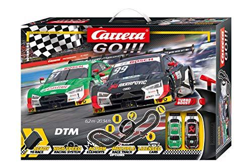 Carrera GO!!! Winners Rennstrecken-Set   6,2m elektrische Rennbahn mit Rockefellers & Muellers Audi RS 5...