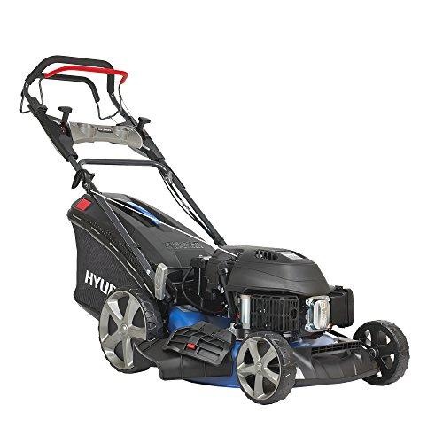 HYUNDAI Benzin-Rasenmäher LM5102G ES (Elektrostart, variabler Radantrieb, Schnittbreite 51cm, sehr starker...