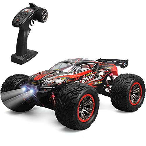 GoStock Ferngesteuertes Auto, 4WD RC Auto 46 km/h Funkfernsteuerung Auto 1:12 RC Buggy Auto Offroad Monster...