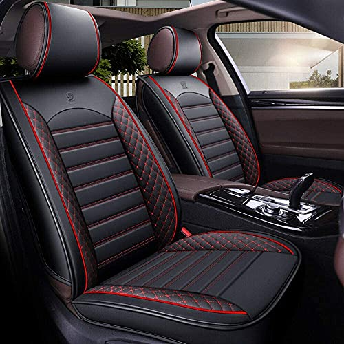 Autositzbezug-Set für 5-Sitzer Automotive Pick Up SUV Truck Kunstleder Sitzschutz Autoinnenausstattung 5...
