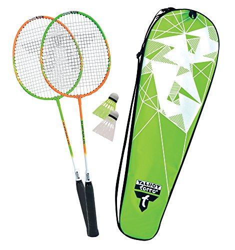 Talbot Torro Unisex Talbot Torro Badminton-set 2-attacker im Thermobag (2017), 449502 Badminton Set, Set,...