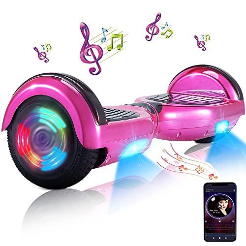 Hoverboard - Hoverboard für Kinder, 6,5-Zoll-Hoverboards mit Zwei Rädern und Bluetooth und Licht für...