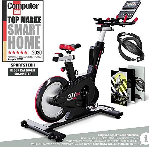 Sportstech Elite Indoor Cycle Bike | Deutsches Qualitätsunternehmen | Video Events & Multiplayer App |...